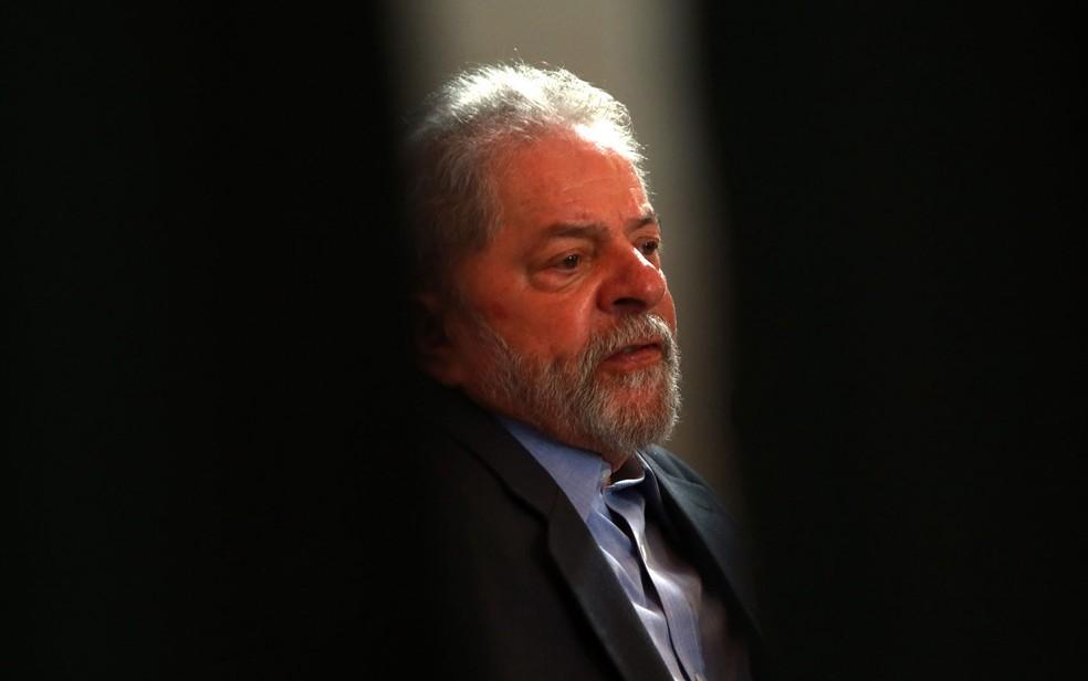 O ex-presidente Luiz Inácio Lula da Silva, em imagem de dezembro de 2017 — Foto: Hélvio Romero/Estadão Conteúdo