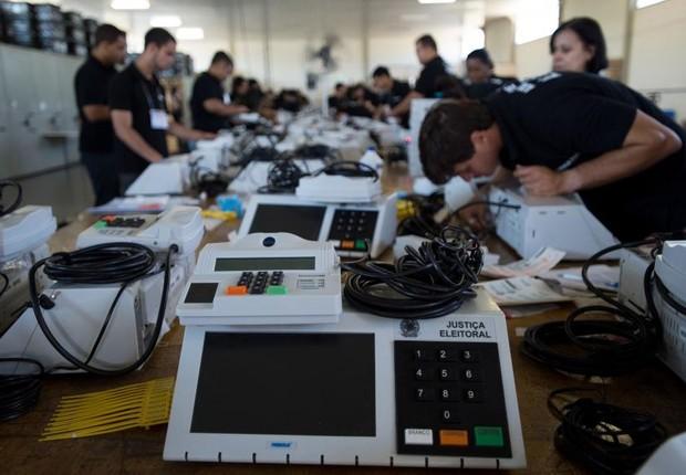 urna eletrônica, eleições (Foto: Marcelo Camargo/ Agência Brasil)