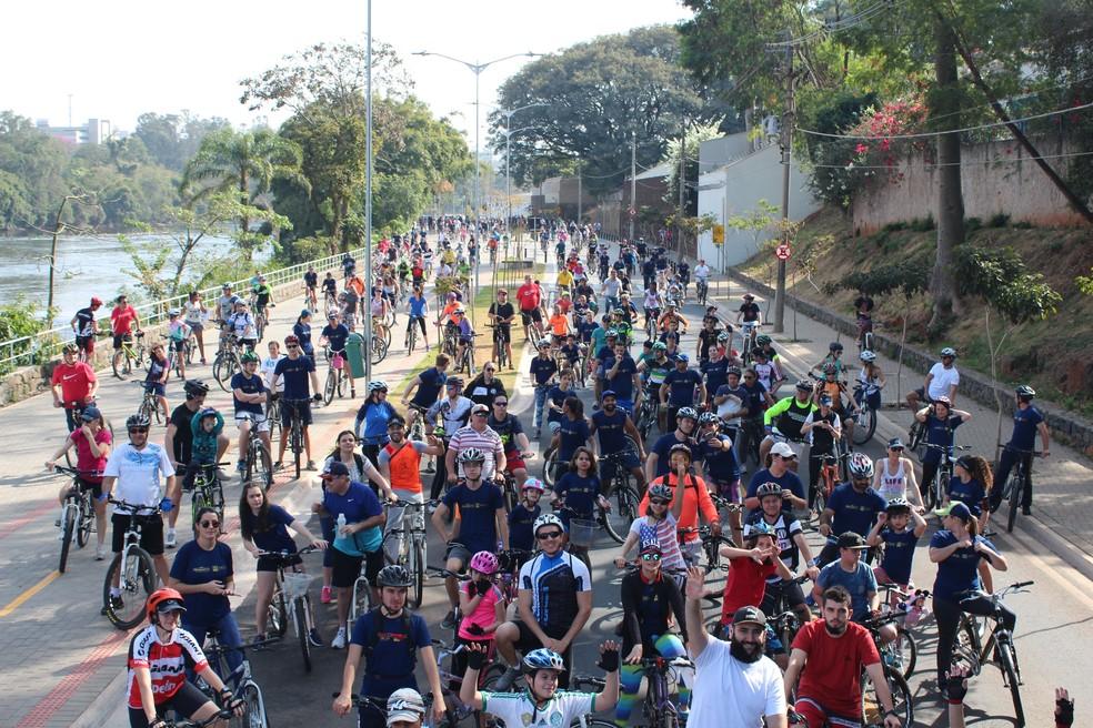 Passeio Ciclístico Pedala Pelo Clima acontece dia 12 de agosto em Piracicaba (Foto: Domenica/Divulgação)