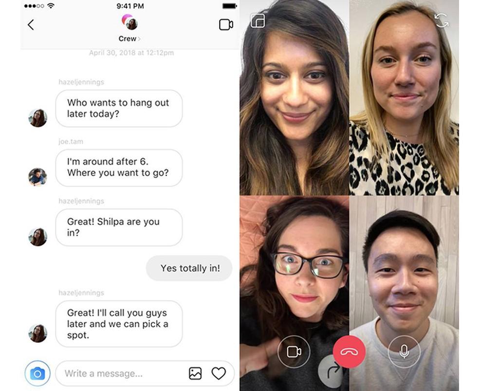 Instagram prepara recurso de videochamadas no Direct (Foto: Divulgação/Instagram)