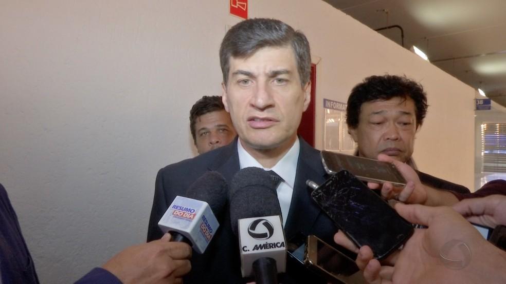 Marcel de Cursi negou participação em esquema durante todo o processo e foi condenado à prisão em regime fechado (Foto: TVCA/Reprodução)