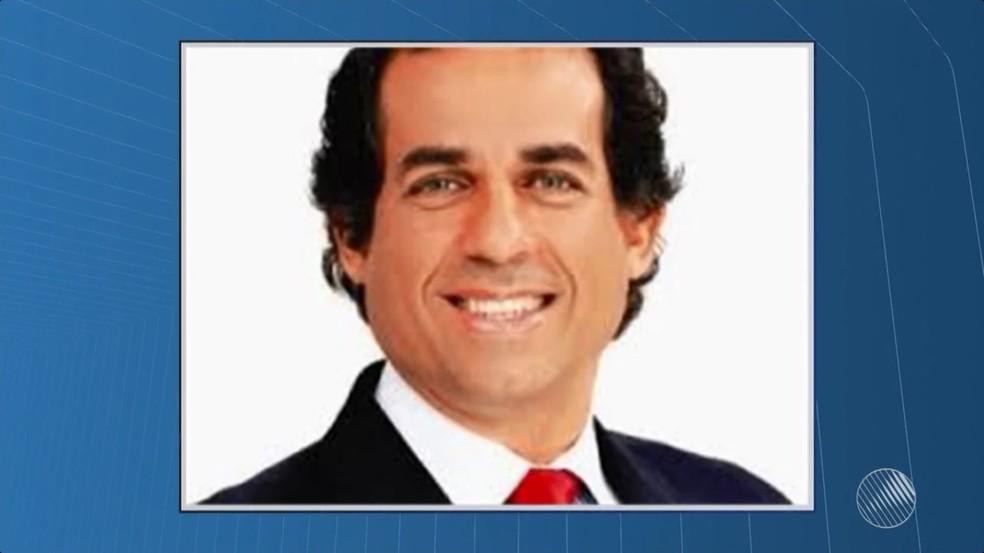 Ricardo Machado (PT) é ex-prefeito da cidade de Santo Amaro, no Recôncavo da Bahia (Foto: Reprodução/TV Bahia)