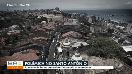 Moradores do Santo Antônio reclamam da realização de grandes festas na região