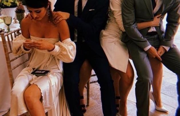 Anaju Dorigon, Bia Arantes, Guilhermina Libanio e Felipe Bragança (Foto: Reprodução/Instagram)