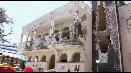 Ataque a hotel na Somália deixa 26 mortos