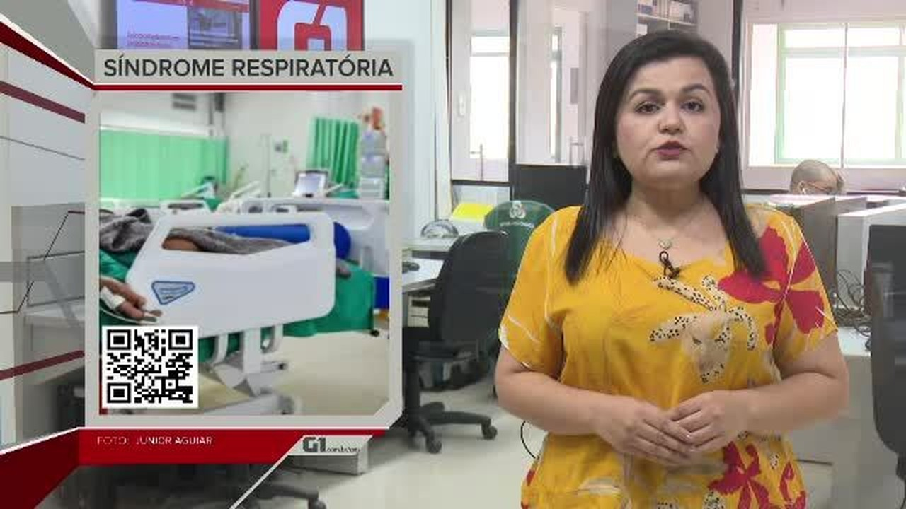 G1 em 1 Minuto - AC: Rio Branco tem aumento nos casos de síndrome Respiratória Aguda