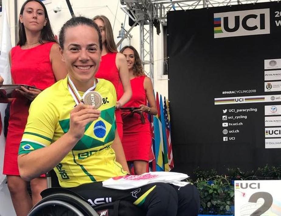 Paranaense conquista medalha inédita para o Brasil no Mundial de Paraciclismo