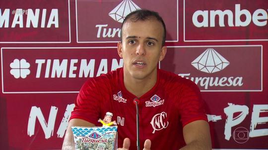 Ex-Fluminense e Mônaco, Matheus Carvalho concilia Náutico com faculdade