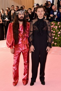 Alessandro Michele e Harry Styles