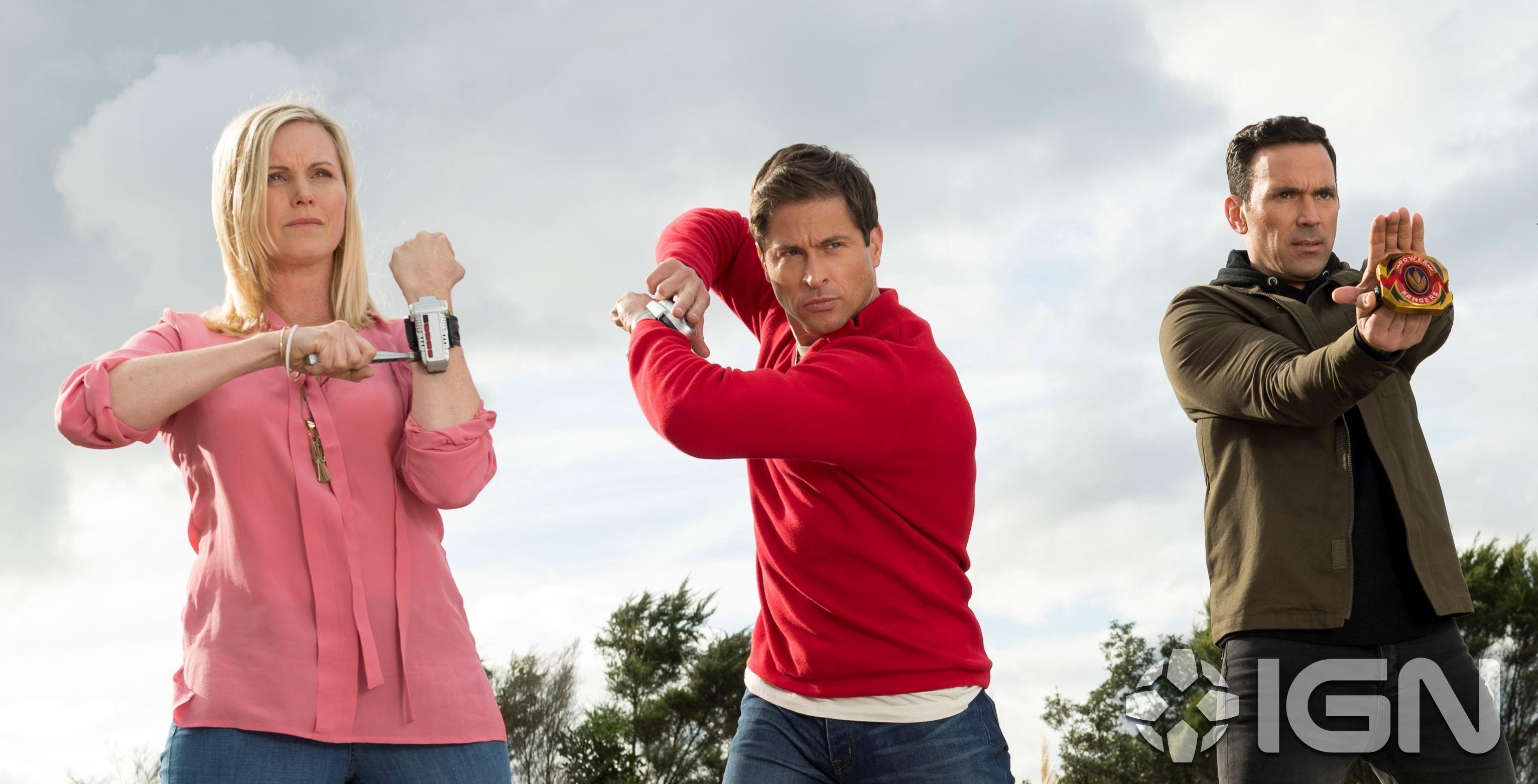 Kat, Wes e Tommy em episódio especial de Power Rangers Ninja Steel (Foto: Divulgação)