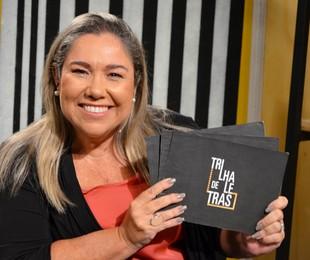 katy navarro, apresentadora do 'Trilha de letras' | Divulgação