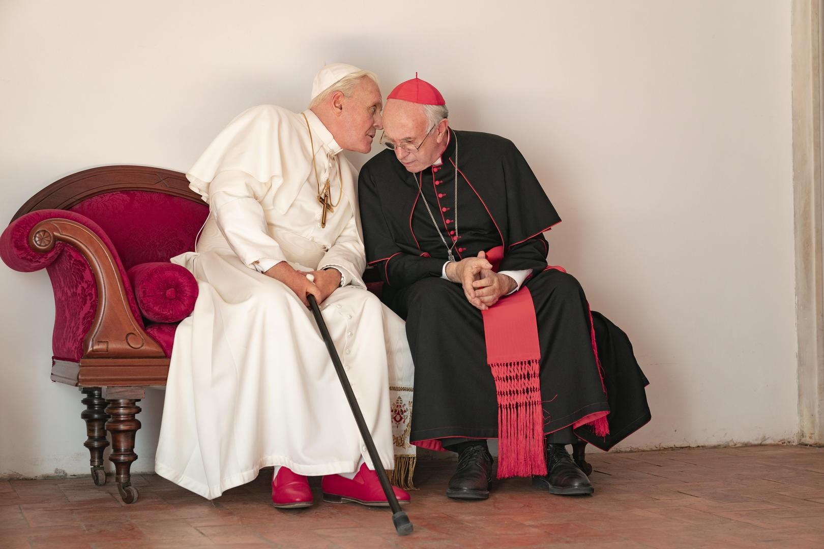 Dois papas (Foto: Divulgação)