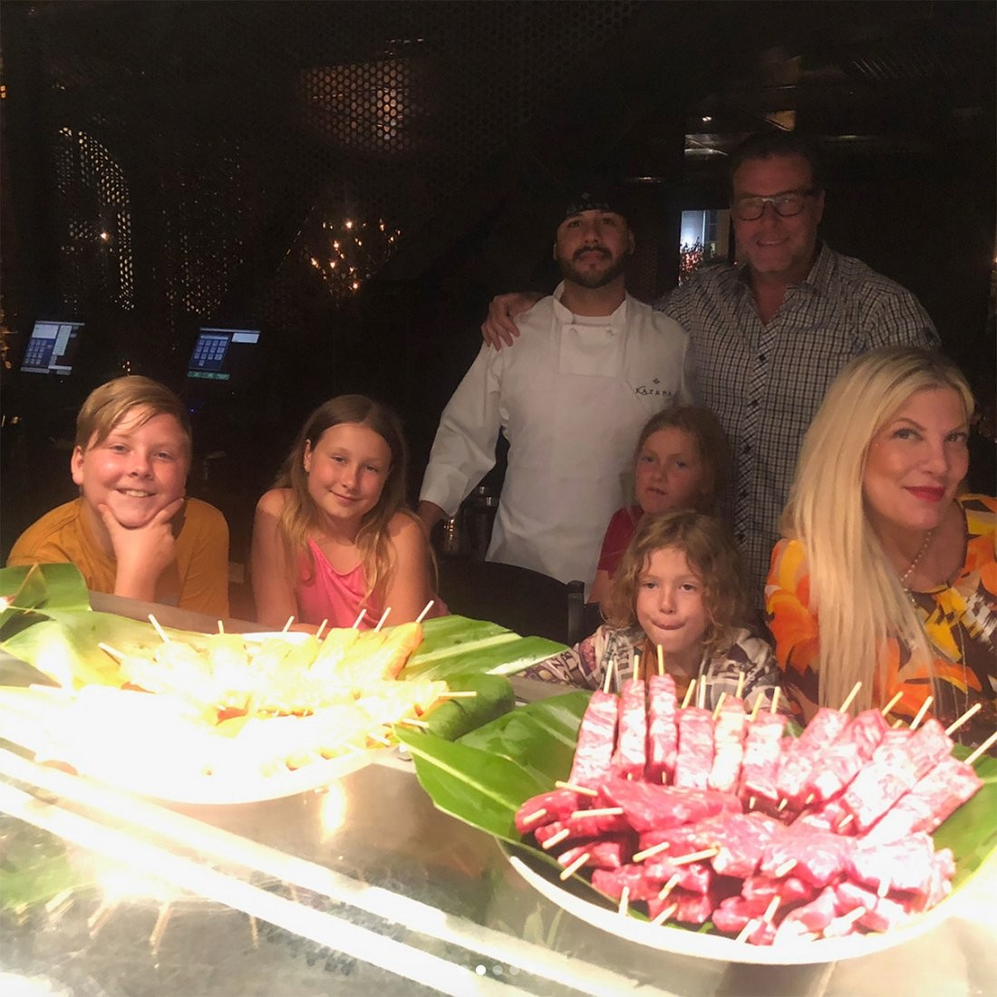 Tori Spelling e família (Foto: Instagram)