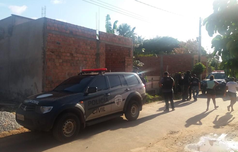 Operação na Vila Conceição terminou com várias mortes após confronto com a polícia — Foto: Alessandra Rodrigues/Mirante AM