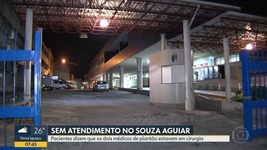Pacientes reclamam de falta de atendimento no hospital municipal Souza Aguiar