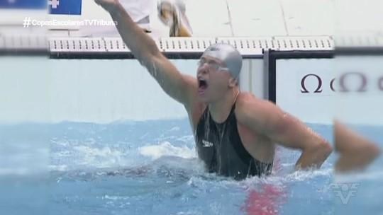 Cesar Cielo considera a medalha de bronze em Pequim a mais importante da carreira