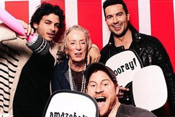 O Príncipe Harry em uma festa com celebridades antes de conhecer a esposa, a atriz Meghan Markle (Foto: Instagram)