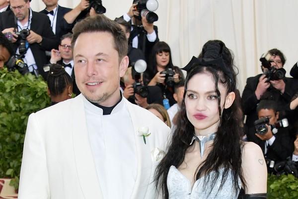 Elon Musk e Grimes (Foto: Getty Images)