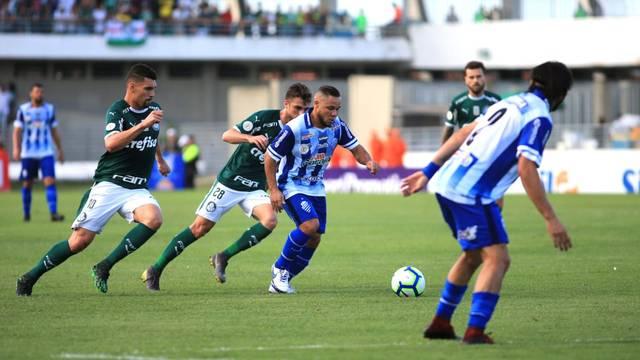 CSA x Palmeiras, no Rei Pelé