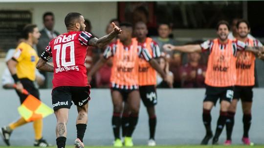 Veja os melhores momentos de Santos 1 x 1 São Paulo