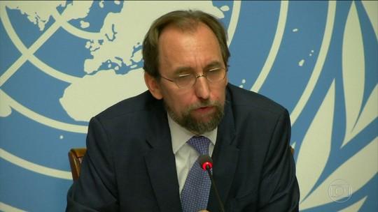 'Democracia na Venezuela está à beira da morte', diz chefe da ONU