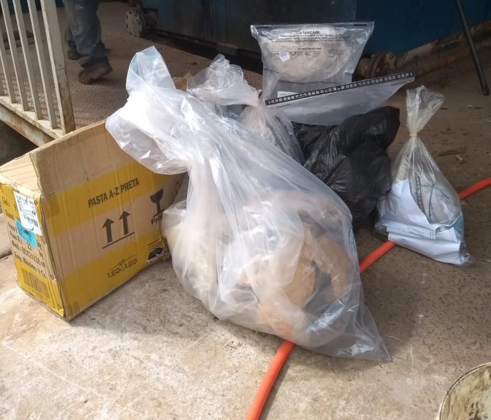 Drogas queimadas foram apreendidas em 2018 e início de 2019 em cidades do sudoeste paulista — Foto: Polícia Civil/Divulgação