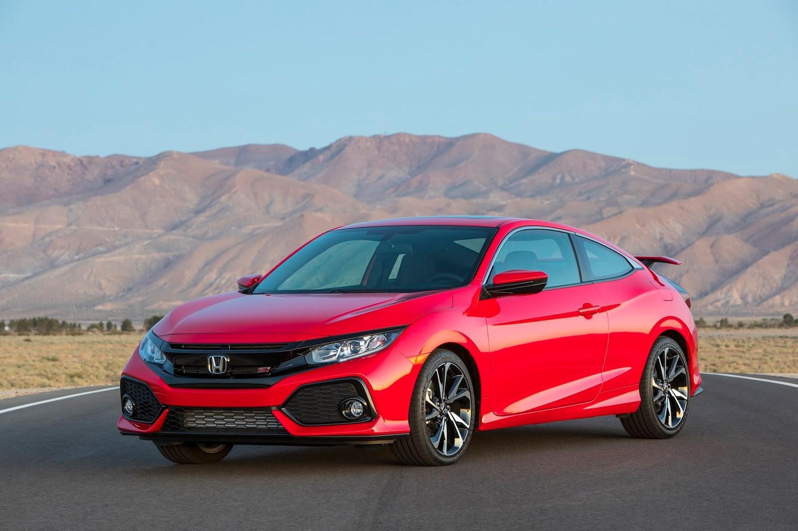 Honda Civic Si 2019 - note que a grade lateral inferior do para-choque é do tipo colmeia (Foto: Divulgação)