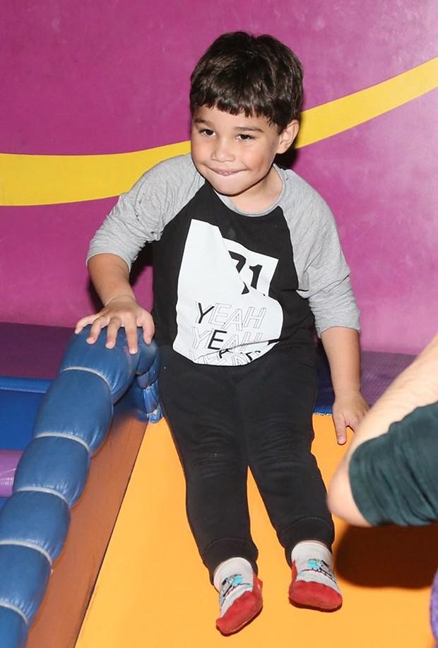 João Francisco, filho da cantora Wanessa Camargo (Foto: Manuela Scarpa/Brazil News)