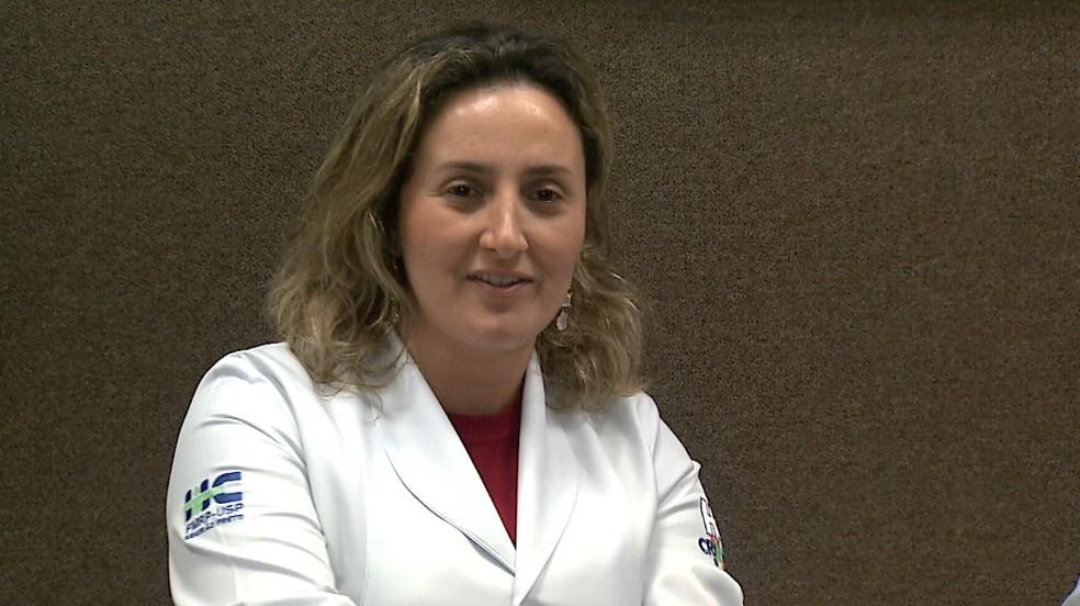 A oncologista pediatra Maristella Bergamo Francisco dos Reis (Foto: Chico Escolano/EPTV)