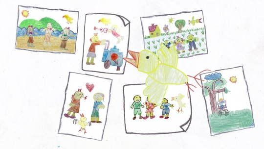 Desenho animado na escola: projeto de educação ajuda 7 mil crianças de 6 a 12 anos