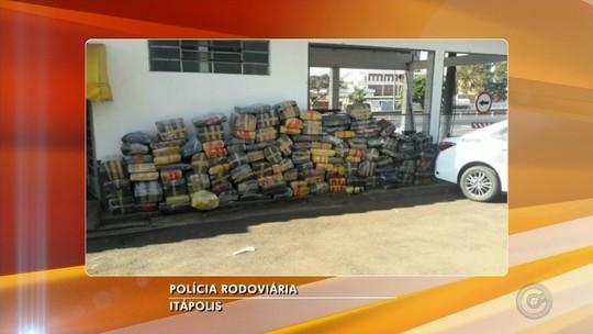 Polícia Rodoviária apreende quase duas toneladas de maconha em caminhão