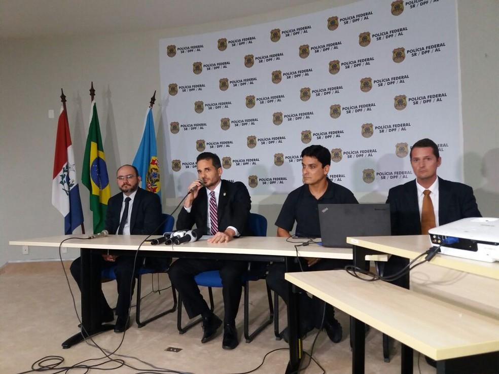 Polícia Federal detalha operação Duas Faces em Alagoas (Foto: Suely Melo/G1)