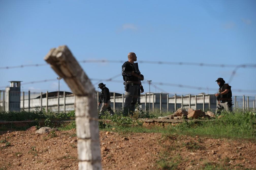 Estado empregou disciplina mais rígida para tentar controlar o sistema penitenciário — Foto: Natinho Rodrigues/G1