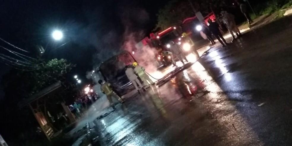 Ataque aconteceu próximo a ponte do rio Madeira — Foto: Whatsapp/Reprodução