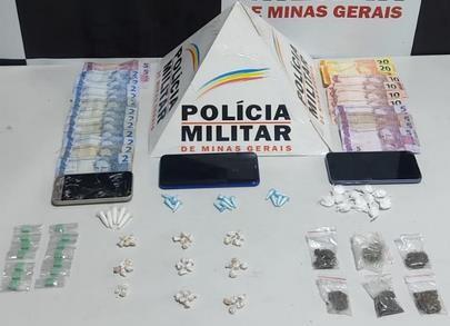Rapaz é detido com drogas em Nova Serrana