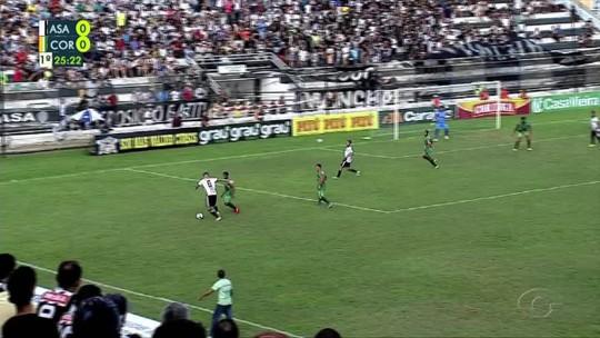 Em jogo de cinco gols, Coruripe vira contra o ASA e assume a 3ª colocação