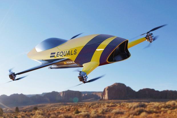 Airspeeder tem desenho que lembra antigos aviões de competição (Foto: Divulgação)