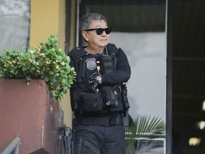 Agente da Polícia Federal Newton Hidenori Ishii (Foto: Giuliano Gomes/PR Press)