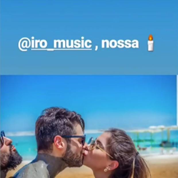 Alok chama Iro de 'vela' (Foto: Reprodução/Instagram)