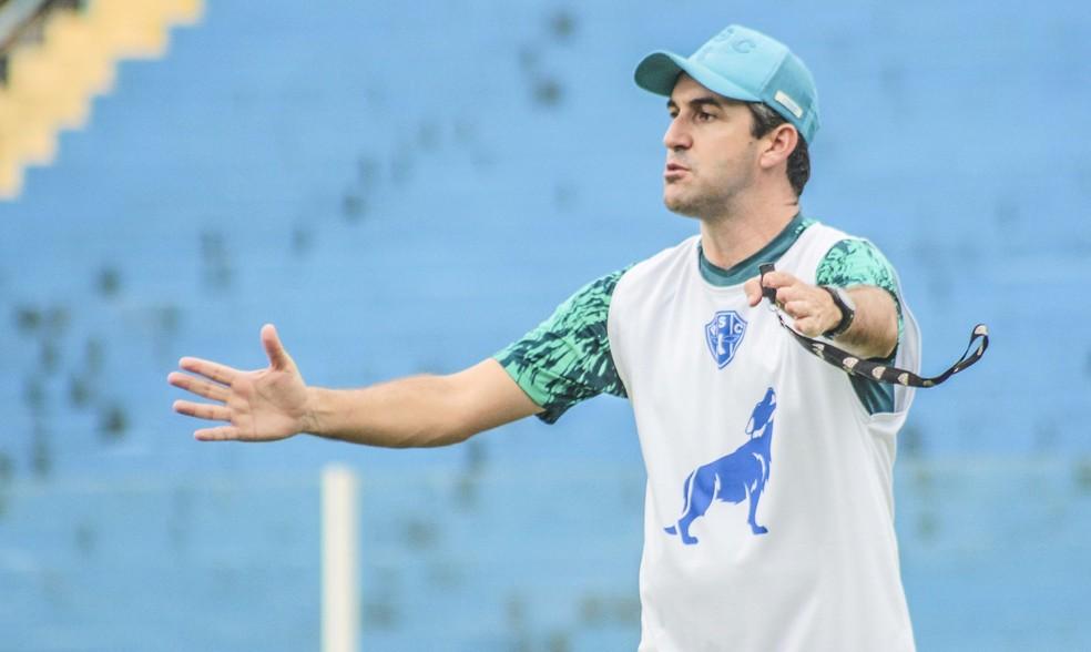 Léo Condé segue sendo um dos nomes fortes na lista coral — Foto: Jorge Luiz/Ascom Paysandu