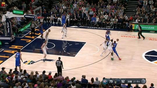 Rudy Gobert faz duplo-duplo, e Utah Jazz vence Oklahoma City Thunder
