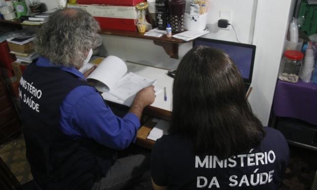 Equipe do Ministério da Saúde trabalha no Oeste do Pará