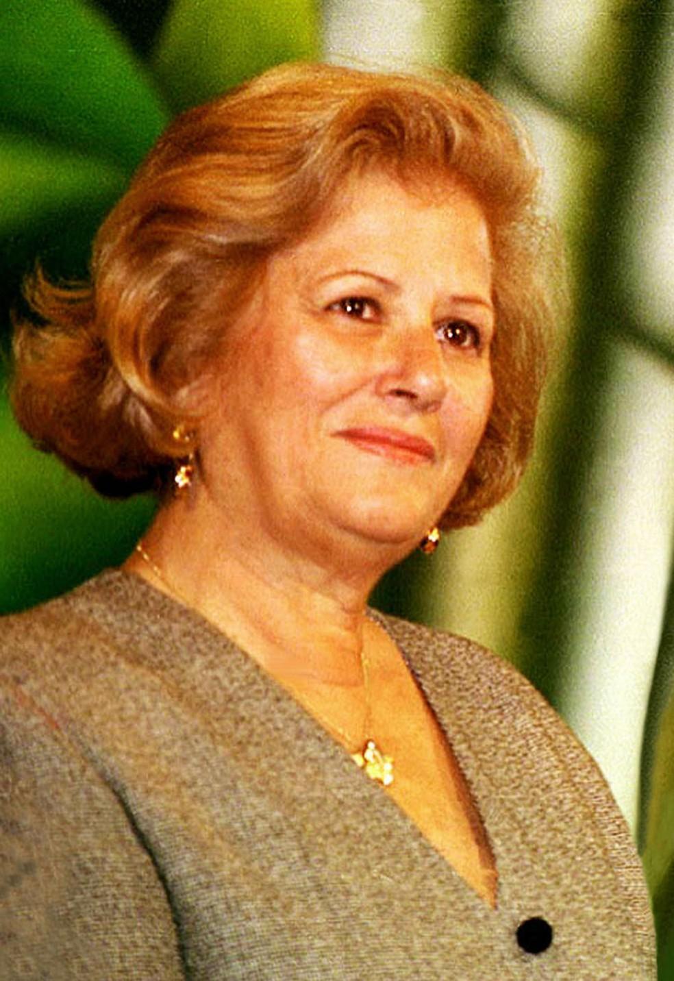 Dona Lila Covas, mulher do ex-governador Mario Covas, morreu em SP — Foto: Reprodução
