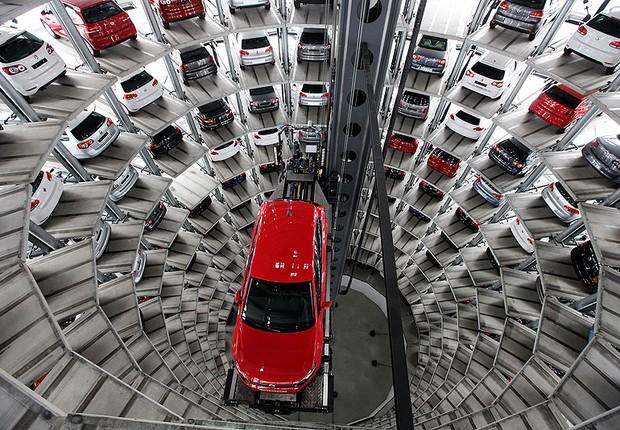 Fábrica da Volkswagen na Alemanha (Foto: Getty Images)