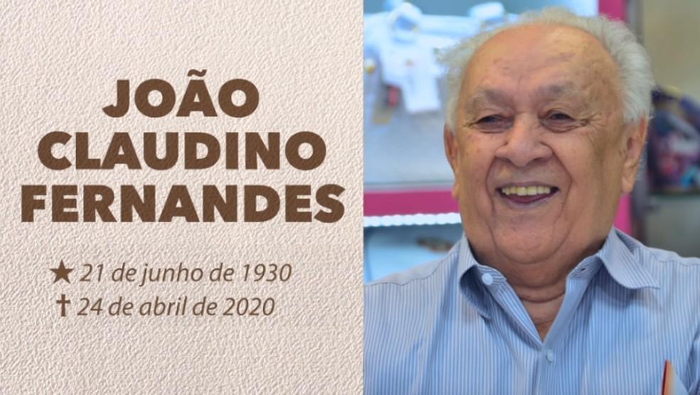 João Vicente Claudino  — Foto: Divulgação