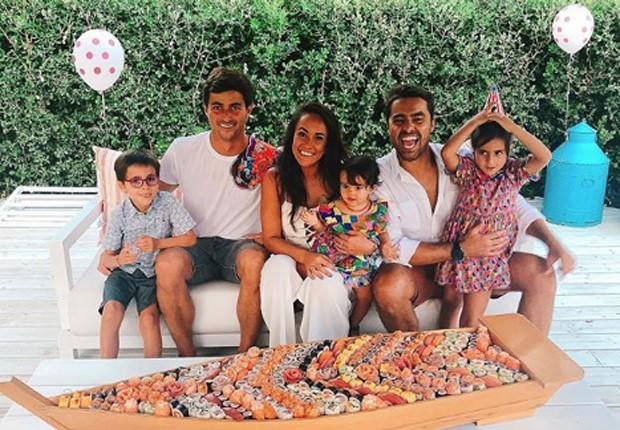 Ricardo Pereira festeja aniversário de Julieta em família (Foto: Reprodução/Instagram)
