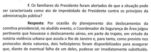 Veja o trecho que fala da violência do Rio