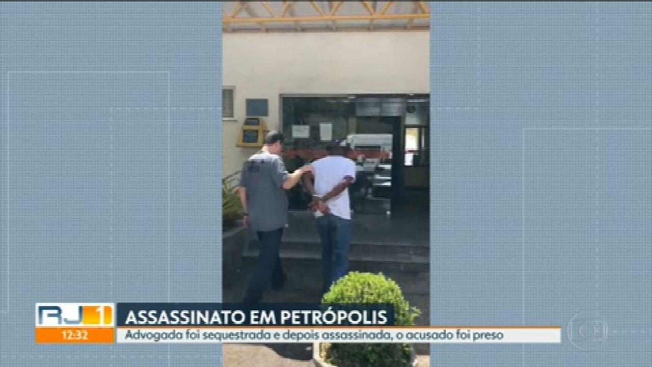 Advogada foi assassinada depois de sofrer um sequestro relâmpago, em Petrópolis