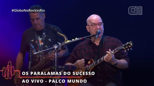 """Paralams do Sucsso incendeia show no Rock in Rio com """"Meu Erro"""""""