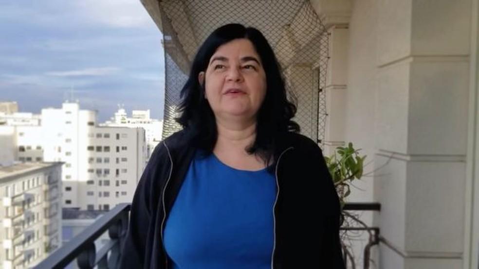 Carmen Barbas seguiu os passos do pai, também pneumologista — Foto: Arquivo Pessoal/Carmen Barbas